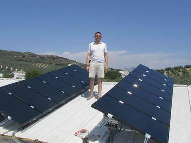 Placas fotovoltaicas para consumo de vivienda