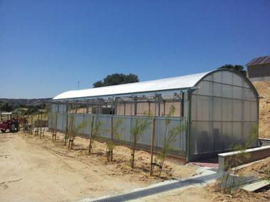 Diseño y construcción de invernadero para jardín botánico privado