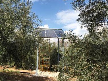 Instalación Riego Solar Fotovoltaico en Córdoba