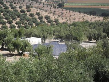 Instalación solar para riego de 13 sectores en Granada