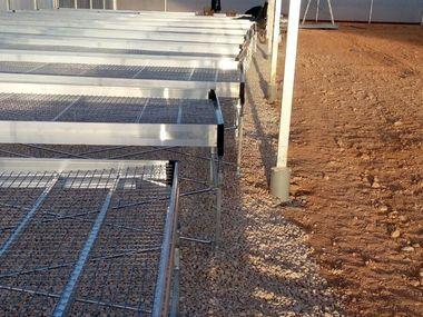 Fabricación y venta de mesas de cultivo para vivero experimental de ajo en Cuenca.