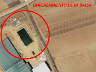 Proyecto de abandono y clausura de balsa de lodos procedentes de industria agroalimentaria. Decreto 281/2002 Junta de Andalucía