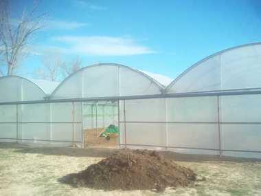 Cambio plásticos y reparación Invernadero Teruel