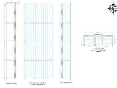 Proyecto de ejecución de 2 naves ganaderas de hormigón prefabricado en Madrid