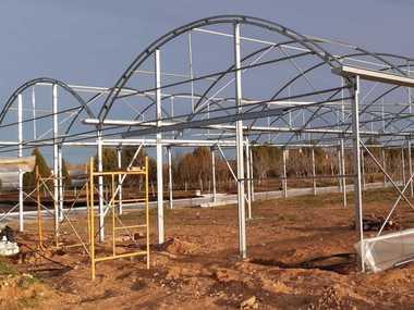 Venta e instalación de invernadero - umbráculo automatizado en Vivero Forestal de Madrid