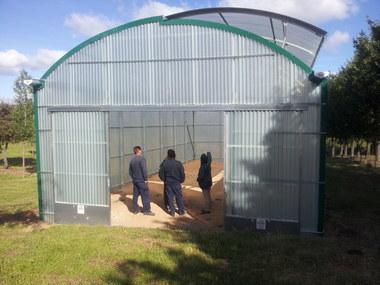 Diseño y montaje de invernadero hortícola en finca privada